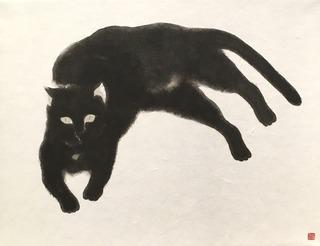 田中美術_田住真之介「黒猫」.jpg.jpg